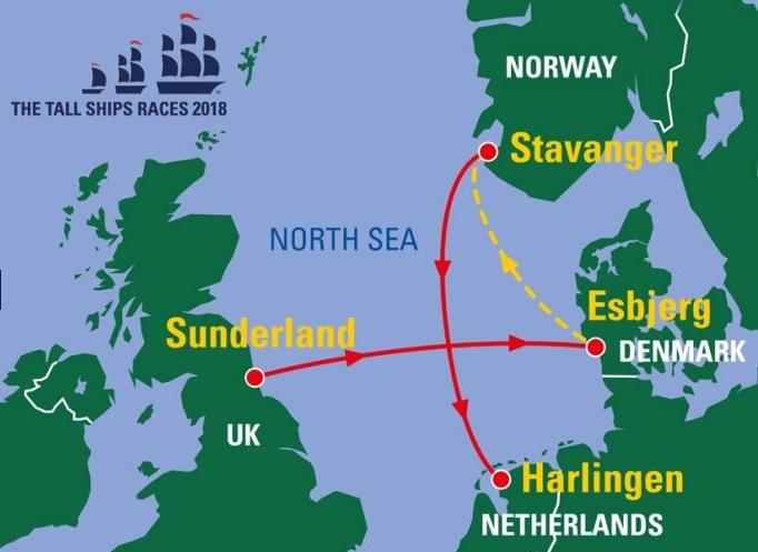TSR 2018 map